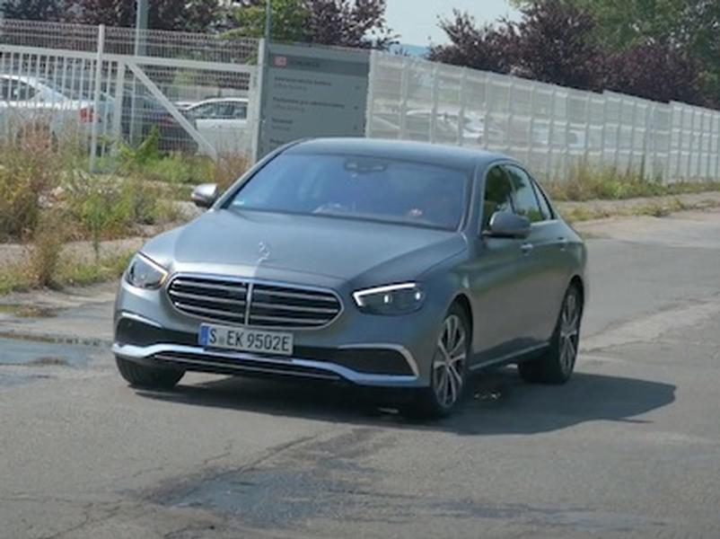 Video test Mercedes E300e