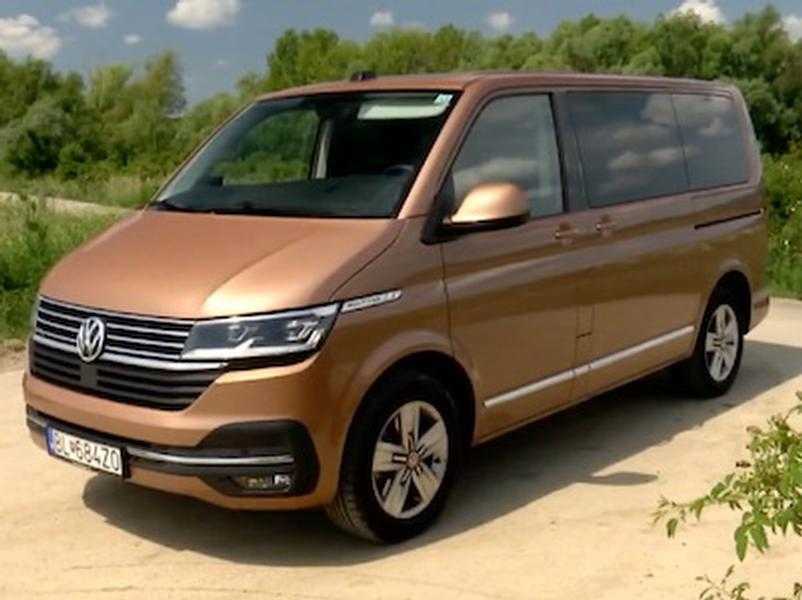 Video test Volkswagen Multivan 6.1