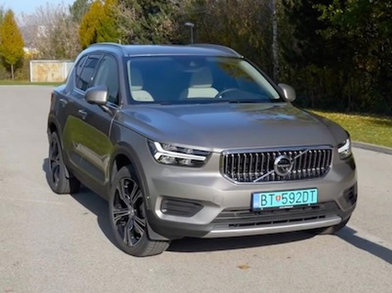 Video test Volvo XC40 T5 Twin Engine
