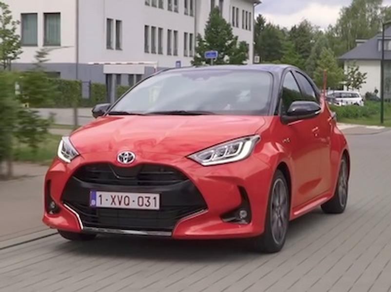Video test Toyota Yaris 1.5 Hybrid