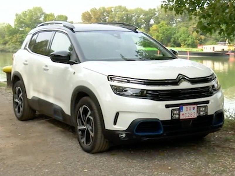 Video test Citroen C5 AirCross Hybrid