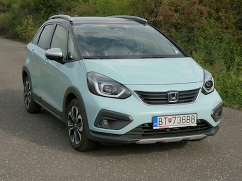 Video test Honda Jazz e:HEV Crosstar