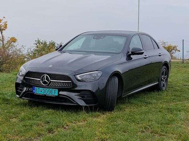 Video test Mercedes-Benz E300de