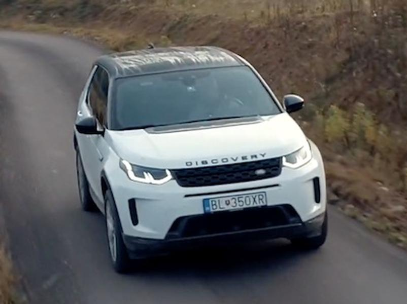 Video test Land Rover Discovery Sport