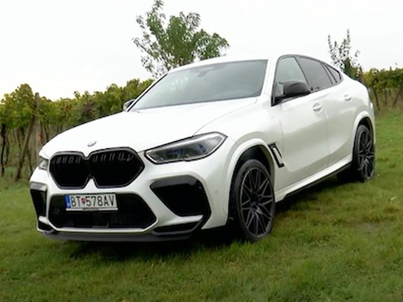 Video test BMW X6M COMPETITION