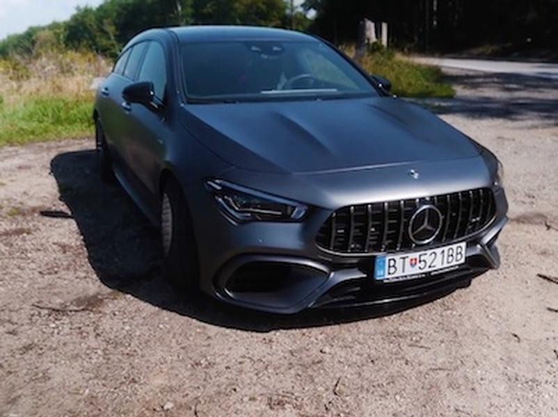 Video test Mercedes-Benz CLA Shooting Brake 45 AMG S