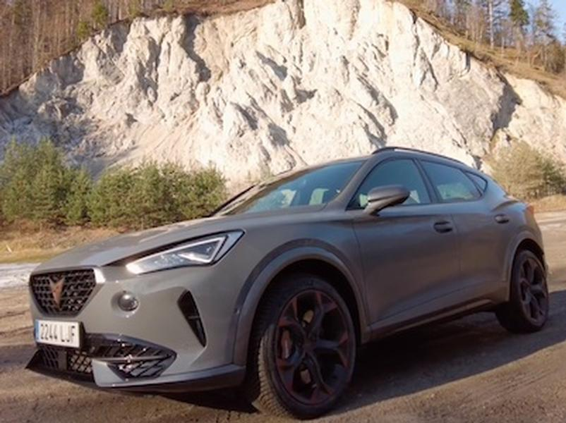 Video test CUPRA Formentor 310k vs. Ateca 2.0 TSI 7-DSG 4DRIVE