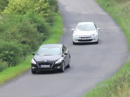 Test Peugeot 508 vs. Citroën C5
