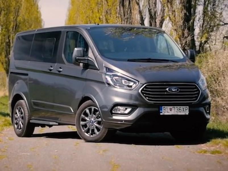 Video test Ford Tourneo Custom 2.0 EcoBlue